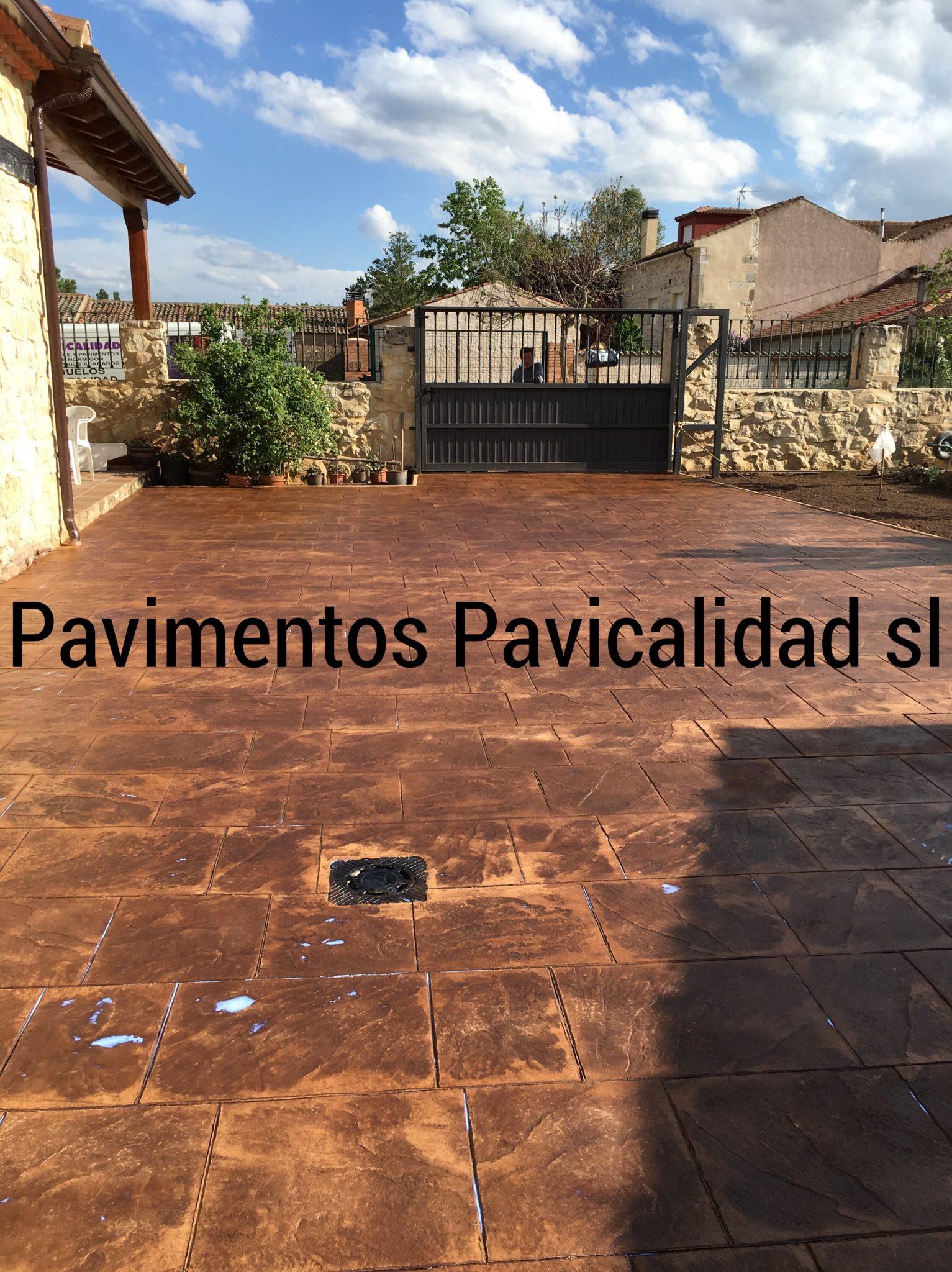 Hormigon impreso guadalajara pavi calidad for Cemento pulido precio m2